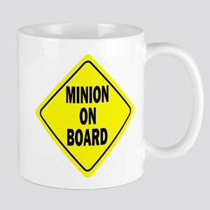 Minion on Board Car Sign Mug