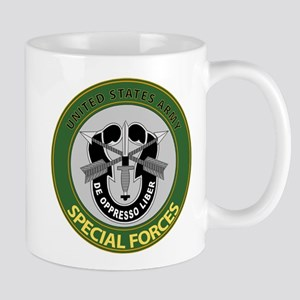 US Army Special Forces Emblem Mug