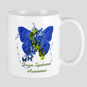 Down Syndrome Awareness Butterfly Mug