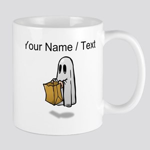 Custom Trick Or Treat Ghost Mugs