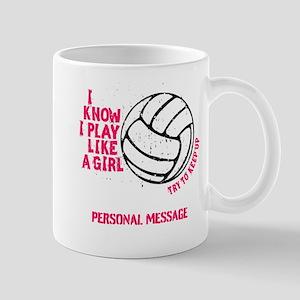 Personalized Volleyball Mugs Cafepress