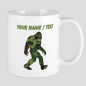 Custom Camo Bigfoot Mugs