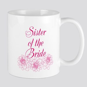 Pink Sister of the Bride Mugs