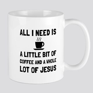 Coffee And Jesus Mugs
