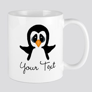 Personalizable Penguin Mugs