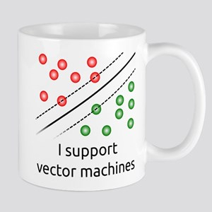 I support vector machines Mugs