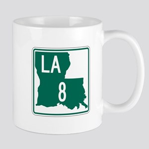 Route 8, Louisiana Mug