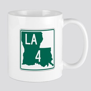 Route 4, Louisiana Mug