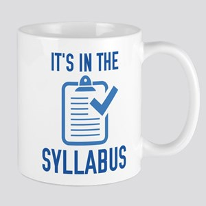 SyllabusInThe1D 11 oz Ceramic Mug