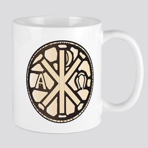 Alpha Omega Stain Glass Mugs