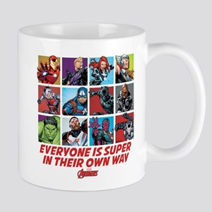 Avengers Everyone is Super Mug