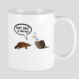 platypus awkward encounter Mugs