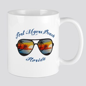 Florida - Fort Myers Beach Mugs