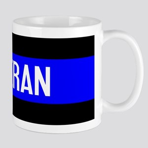 Police: Veteran & The Thin Blue Line Mug