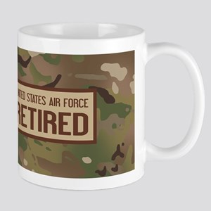 U.S. Air Force: Retired (Camo) 11 oz Ceramic Mug