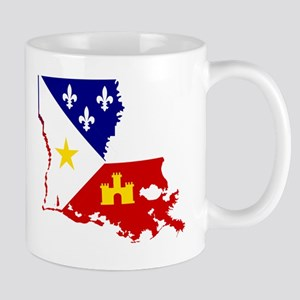 Acadiana State of Louisiana Mug