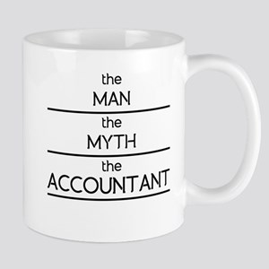 9874b9fc The Man The Myth The Accountant Mugs