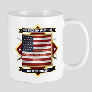 2nd Wisconsin Volunteers Mugs