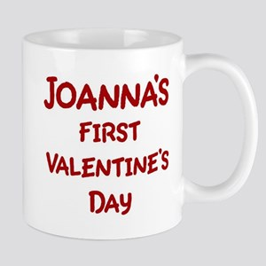 Joannas First Valentines Day Mug