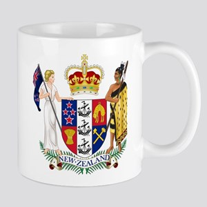 New Zealand Coat Of Arms Mug