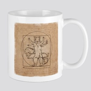 Vitruvian Squirrel Mug