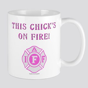 This Chicks on Fire Mug