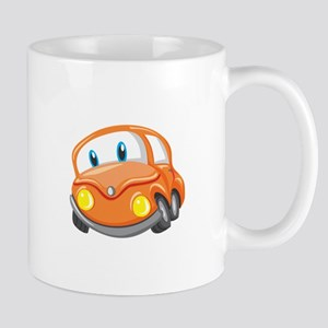 Toy Orange Car Mugs