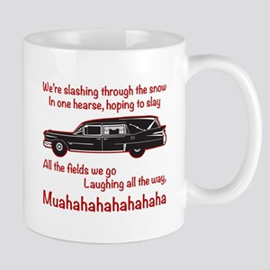 Jingle Hells Hearse Mugs