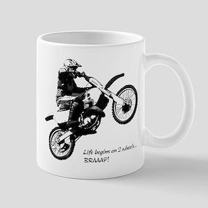 04d168fa Dirtbike Mugs - CafePress