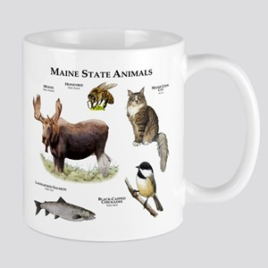 Maine State Animals Mug