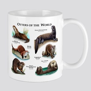Otters of the World Mug