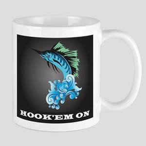 Blue Marlin Jump Mugs