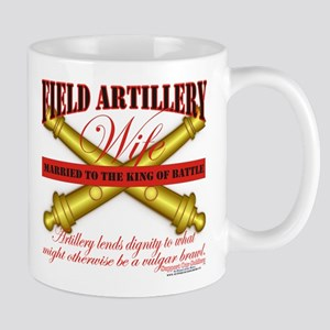 Army Field Artillery Wife FA Mug