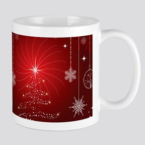 Decorative Christmas Ornamental Snowflakes Mugs