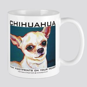 Tiny Footprints Chihuahua Mug