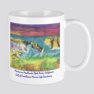 Mendocino Headlands State Park, California Mugs