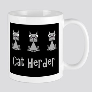 Cat Herder - job humor with cats Mugs