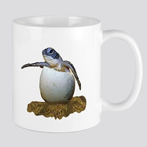 3a4160fc4f6 Baby Sea Turtle Drinkware - CafePress