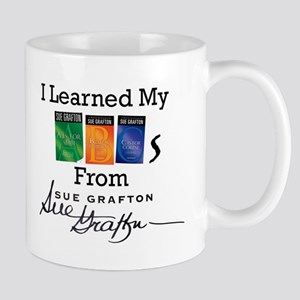 I Learned My ABCs - Sue Grafton 11 oz Ceramic Mug
