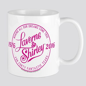 Laverne And Shirley Logo Design Mug