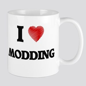 I Love Modding Mugs