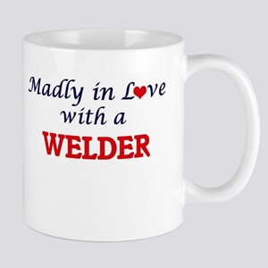Madly in love with a Welder Mugs