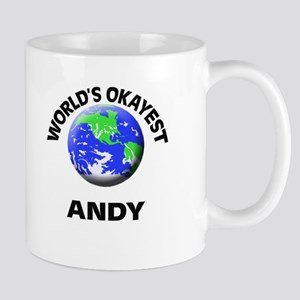 World's Okayest Andy Mugs