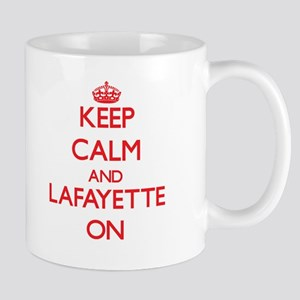 Keep Calm and Lafayette ON Mugs