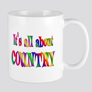 All About Country Mug