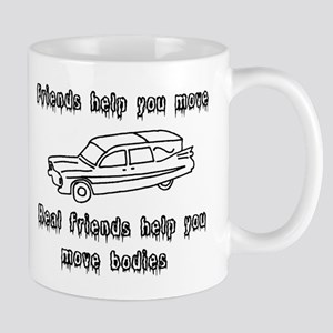 Hearses and friends Mug