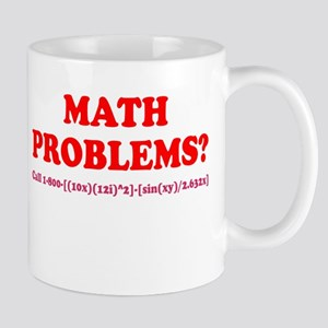 Math Problems? Call 1-800 Mug
