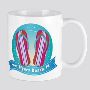 Fort Myers Beach Flipflops Mug
