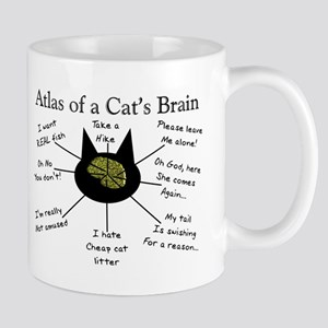 Atlas of a Cats Brain Mugs
