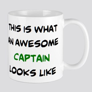 awesome captain 11 oz Ceramic Mug